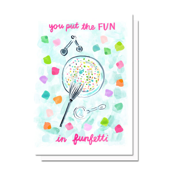 The Fun in Funfetti Card
