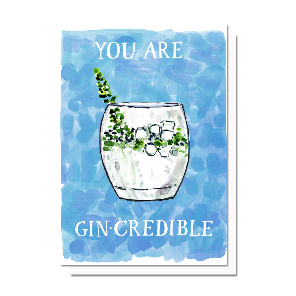 Gin-Credible Card