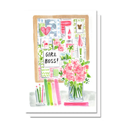 Girl Boss Card