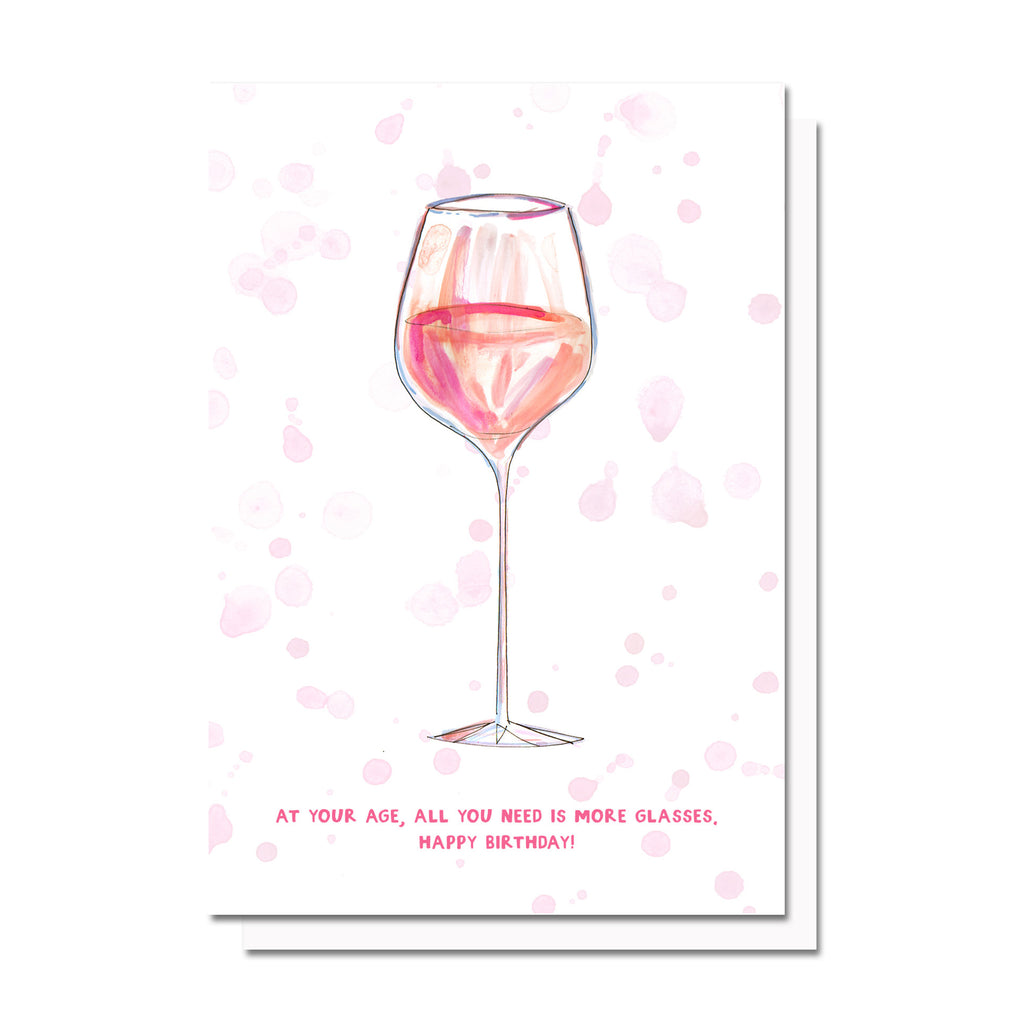 Birthday Glass Card