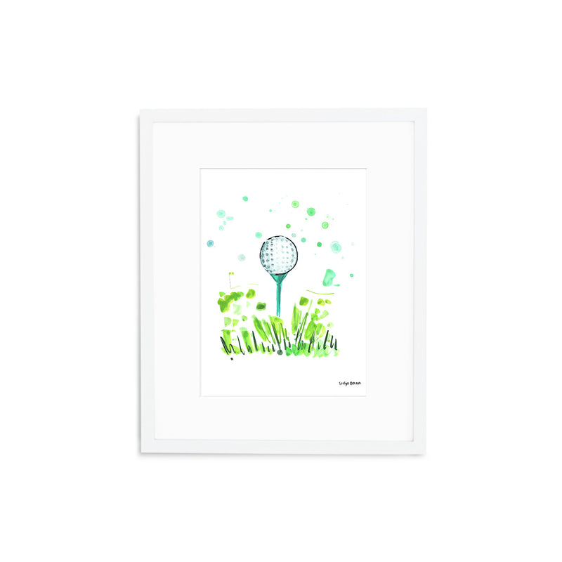 "The ""Tee Off"" Fine Art Print"