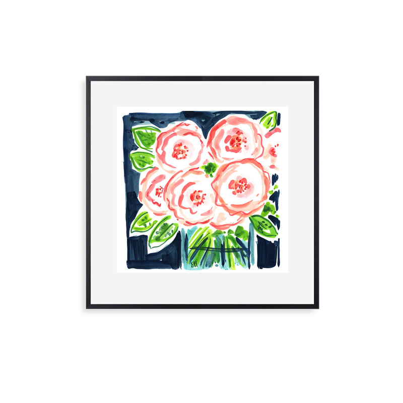 Guiding Lights, Flower Print