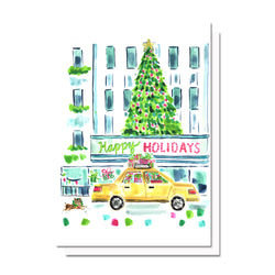 Christmas Time in the City Card
