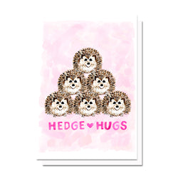 Hedgehugs Card