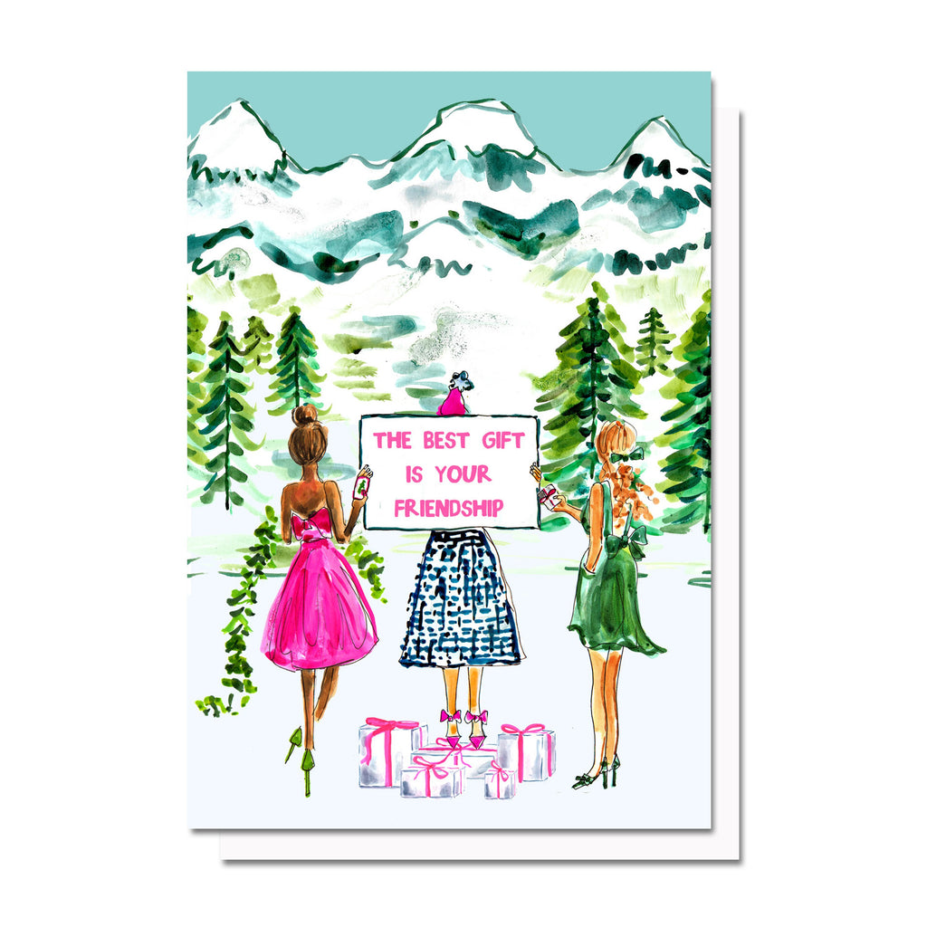 Friendship Holiday Card