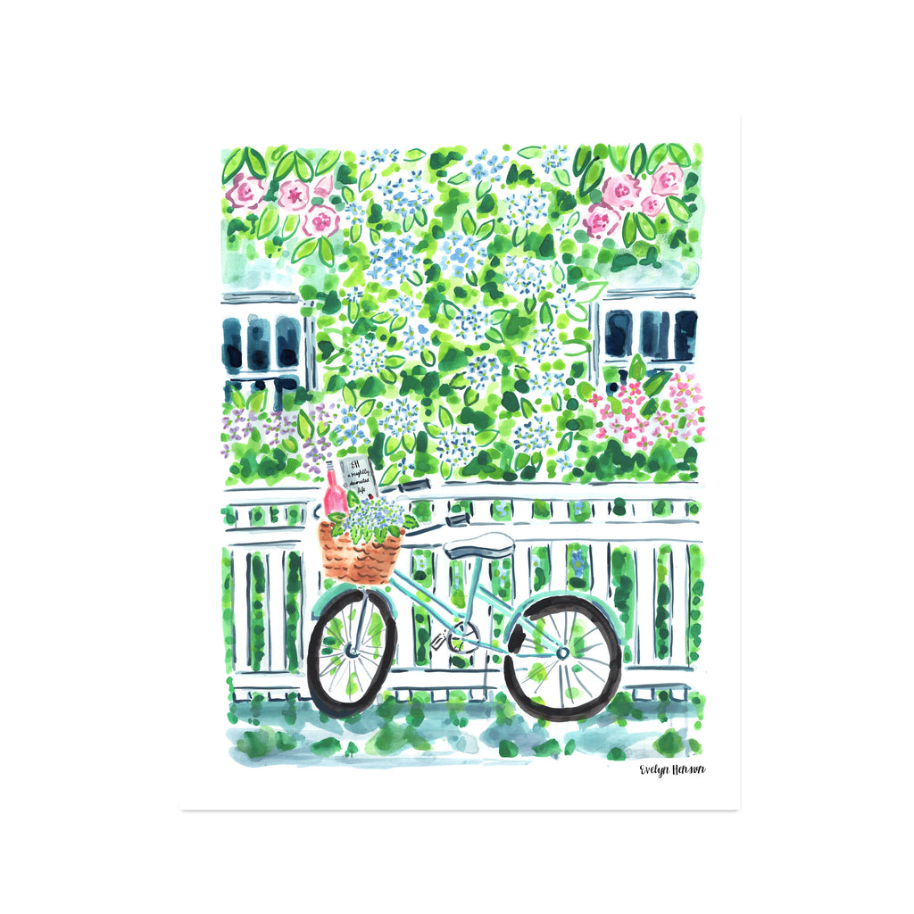 "The ""Hydrangea Season"" Fine Art Print"