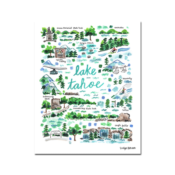 """Lake Tahoe"" Fine Art Print"