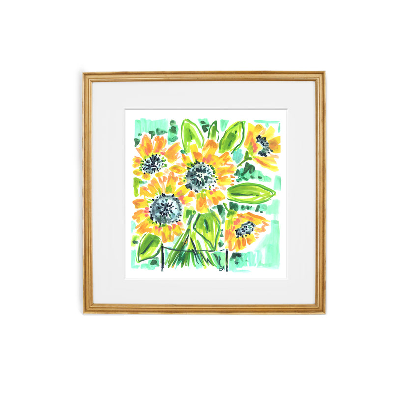 Let Your Light Sunshine, Flower Print
