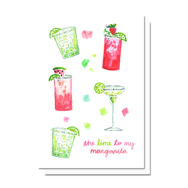 Lime to my Margarita Card