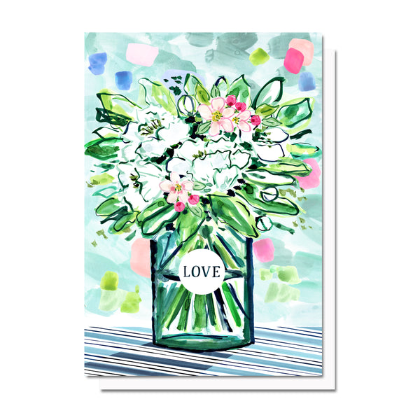Flowers of Love Card