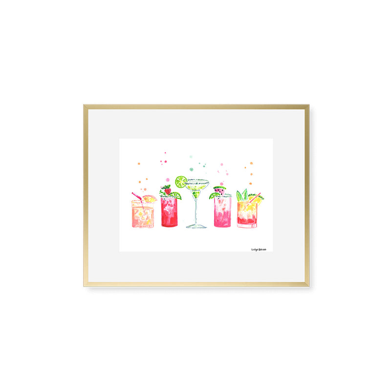 "The ""All the Margaritas"" Fine Art Print"
