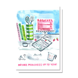 Measures Up to You Card