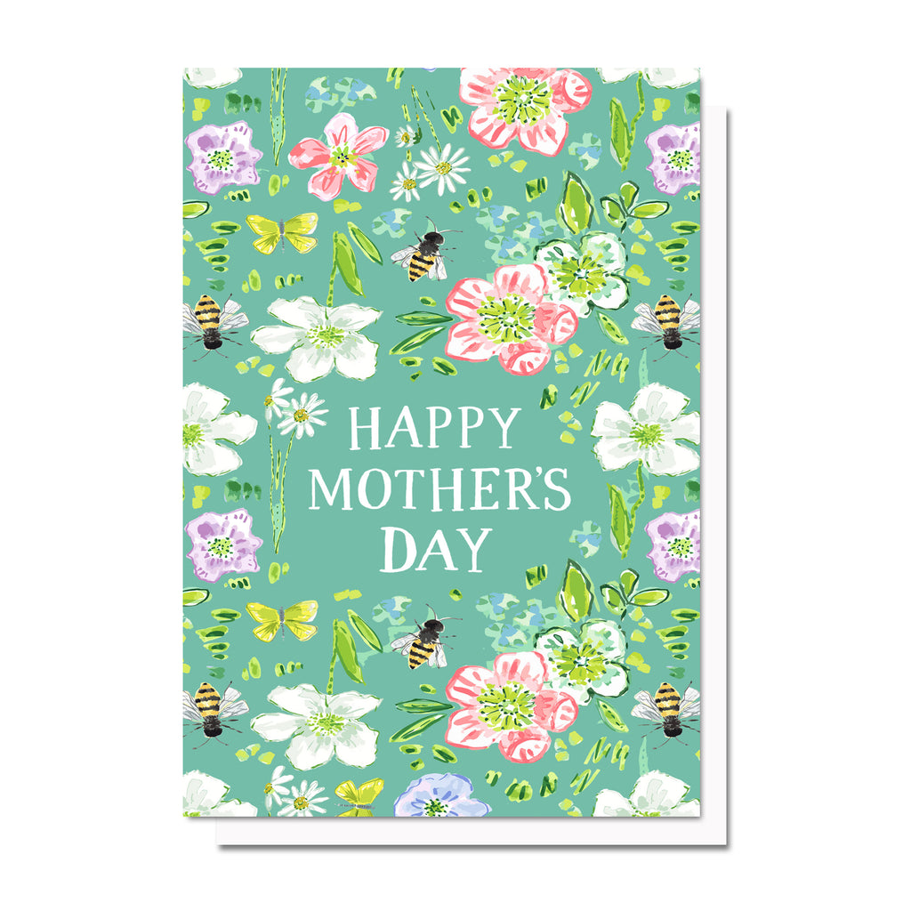 Mother's Day Florals No. 1 Card