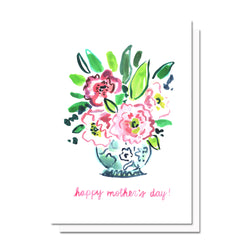 Mother's Day Flowers Card