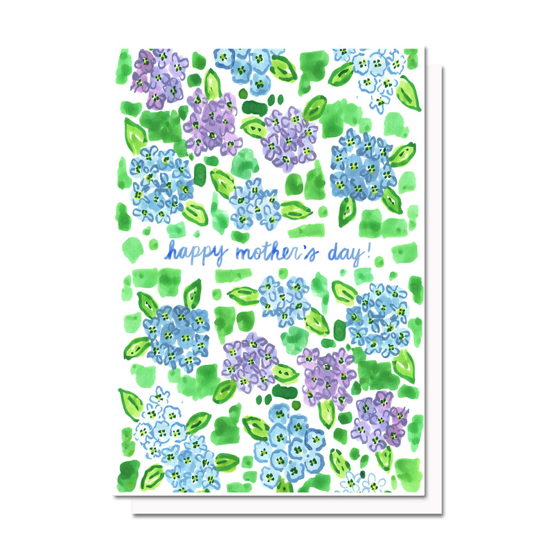 Mother's Day Hydrangeas Card