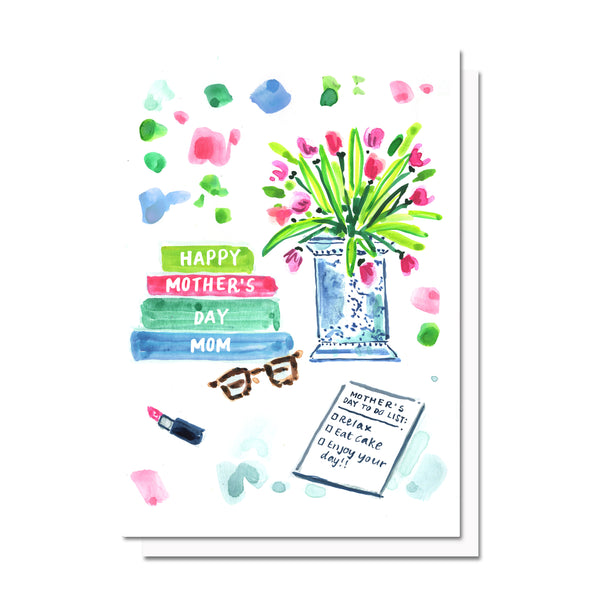 Mother's Day To Do List Card