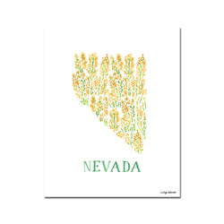 Nevada Sagebrush Flower Print