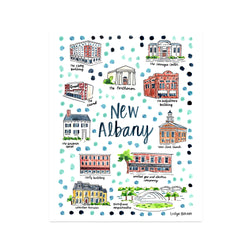 """New Albany, IN"" Fine Art Print"