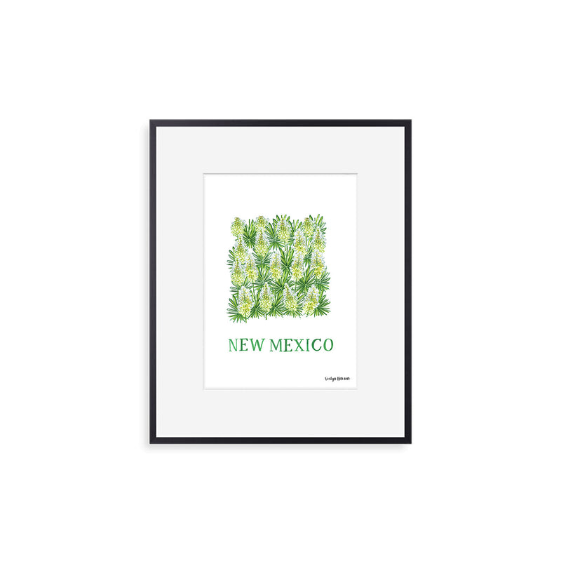 New Mexico Yucca Flower Print