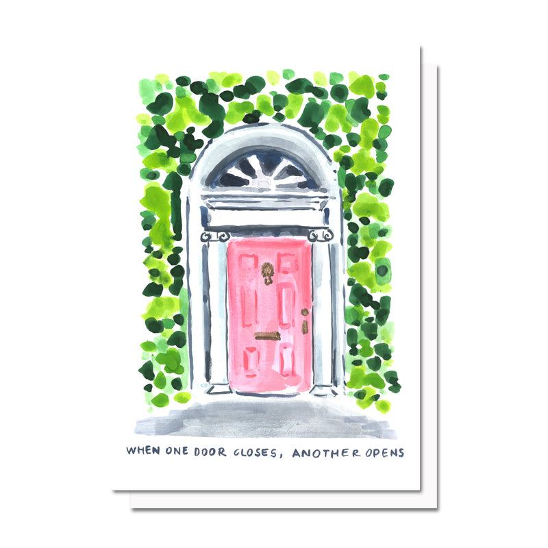 When One Door Closes Card