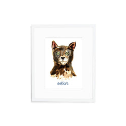 Personalized Cat Print