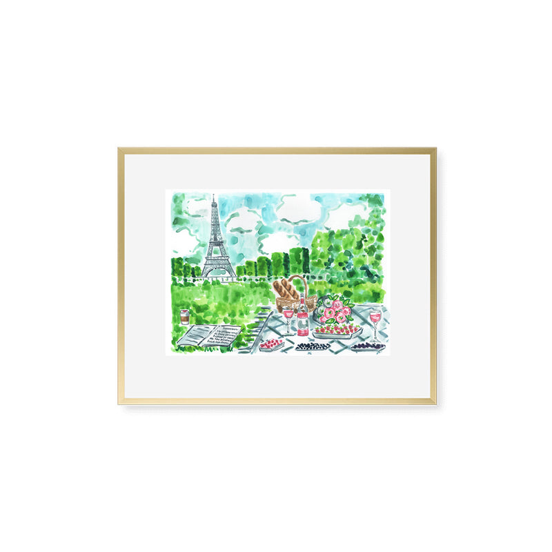 "The ""Paris Picnic"" Fine Art Print"