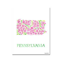 Pennsylvania Mountain Laurel Flower Print