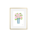 "The ""Stop and Smell the Peonies"" Fine Art Print"