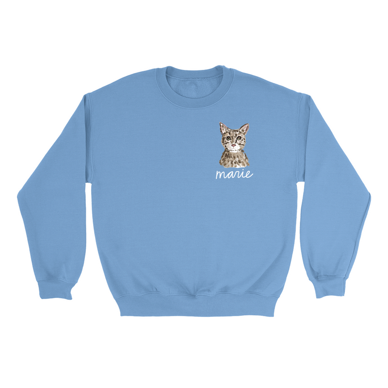 Personalized Cat Sweatshirt (Limited Availability)