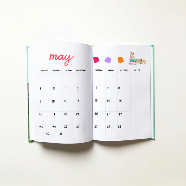 2021 Monthly Planner | Adventure Print