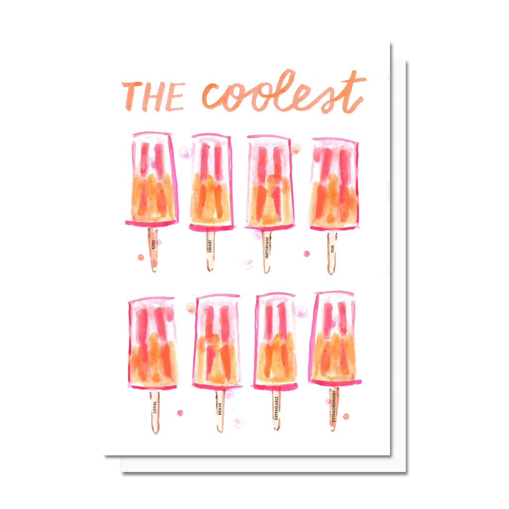 The Coolest (Popsicles) Card