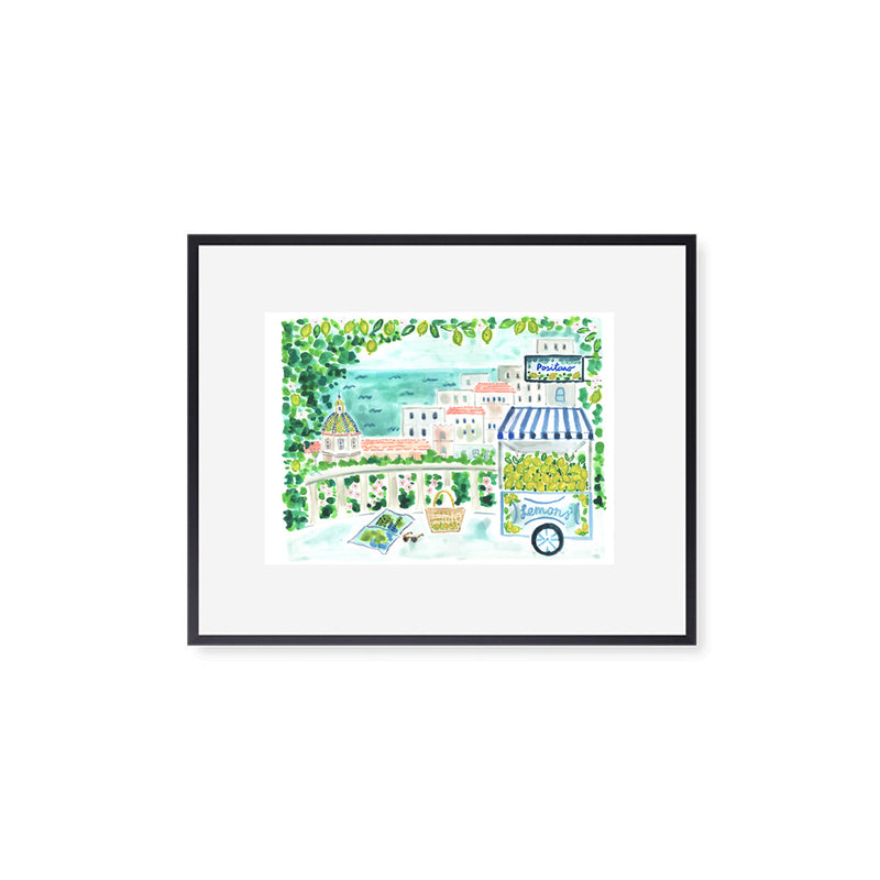 "The ""Positano Lemons"" Fine Art Print"
