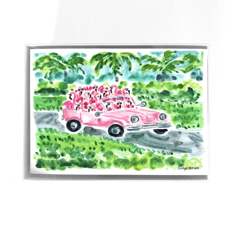 Flamingo to Palm Beach Puzzle