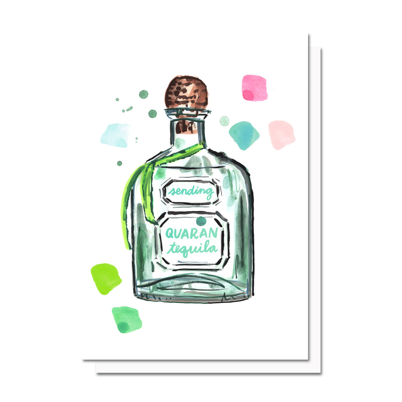 QuaranTEQUILA Card