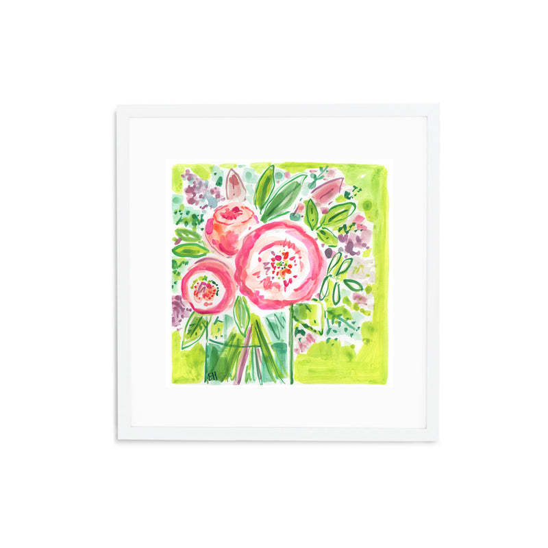 Rose Spritzer, Flower Print