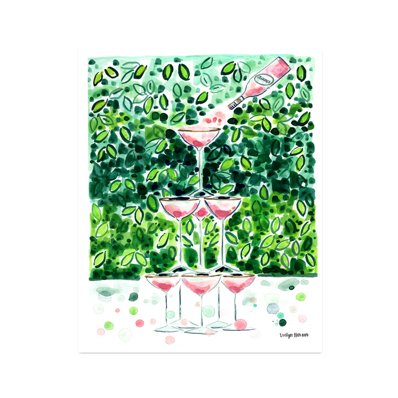 "The ""Sparkle Like Pink Champagne"" Fine Art Print"