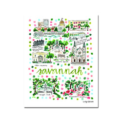 """Savannah, GA"" Fine Art Print"