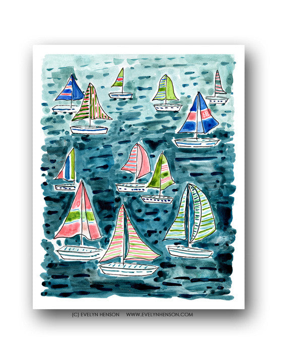 Seas The Day, Fine Art Print