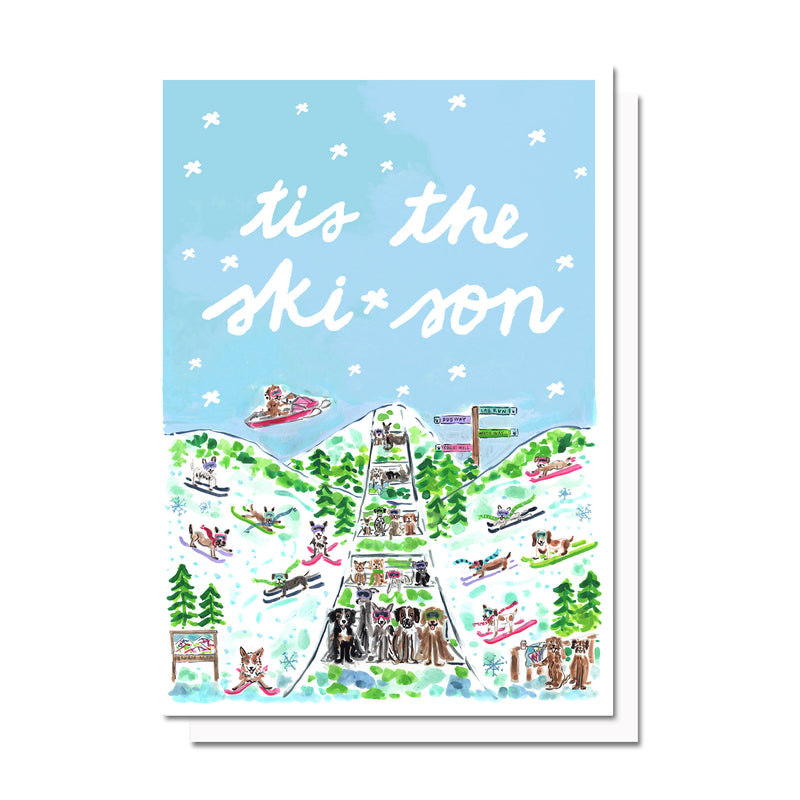 Tis the Ski-son Card
