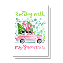 Holiday Snowmies Card