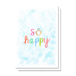 So Happy Wedding Card