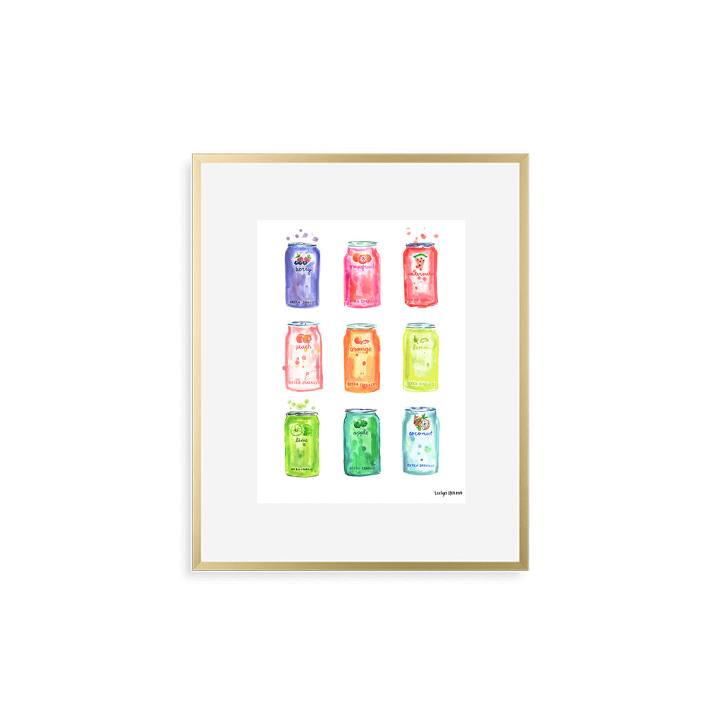"The ""All the Sparkling Water"" Fine Art Print"