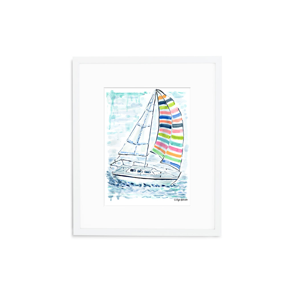 "The ""Splash of Color"" Fine Art Print"