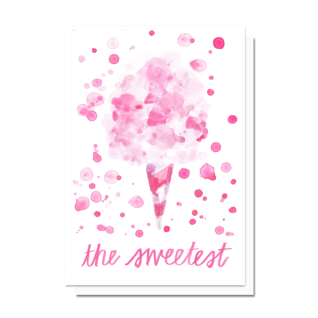 Cotton Candy Sweet Card