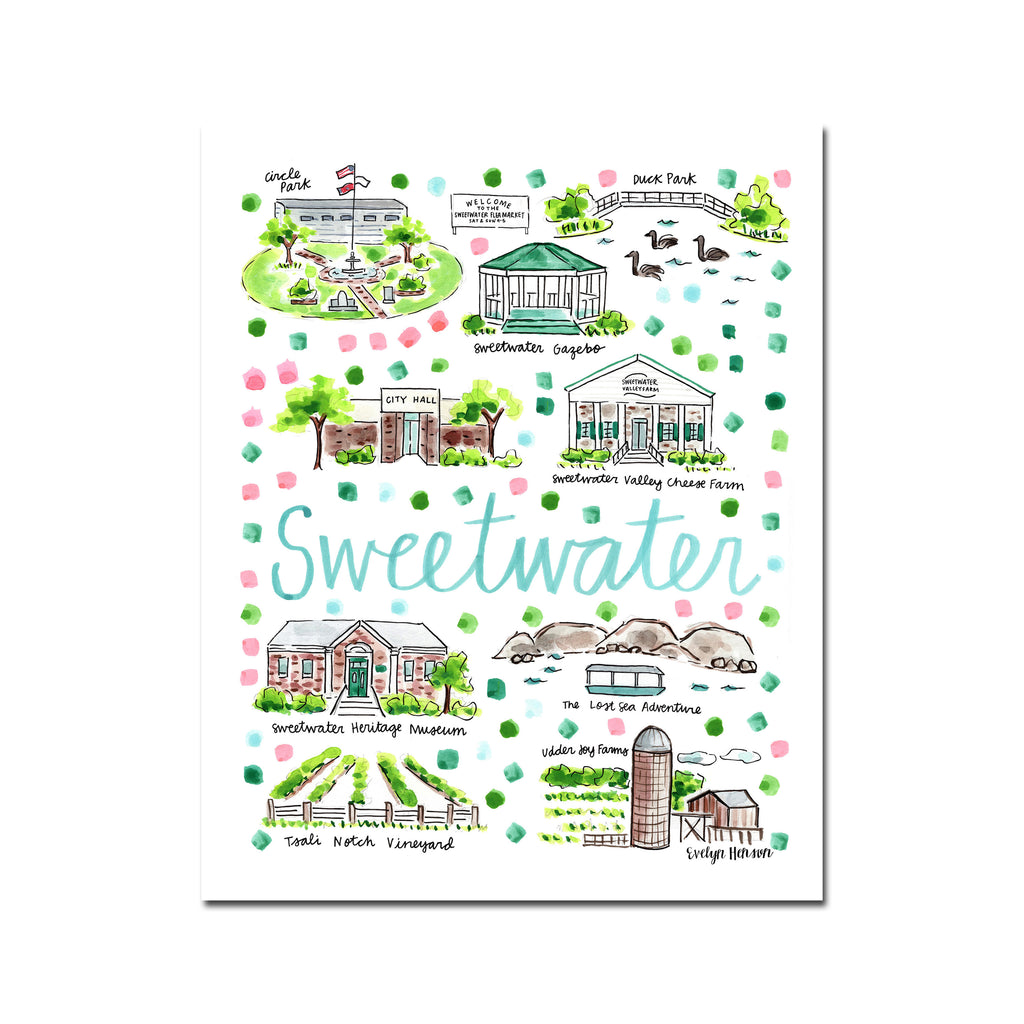 """Sweetwater, TN"" Fine Art Print"