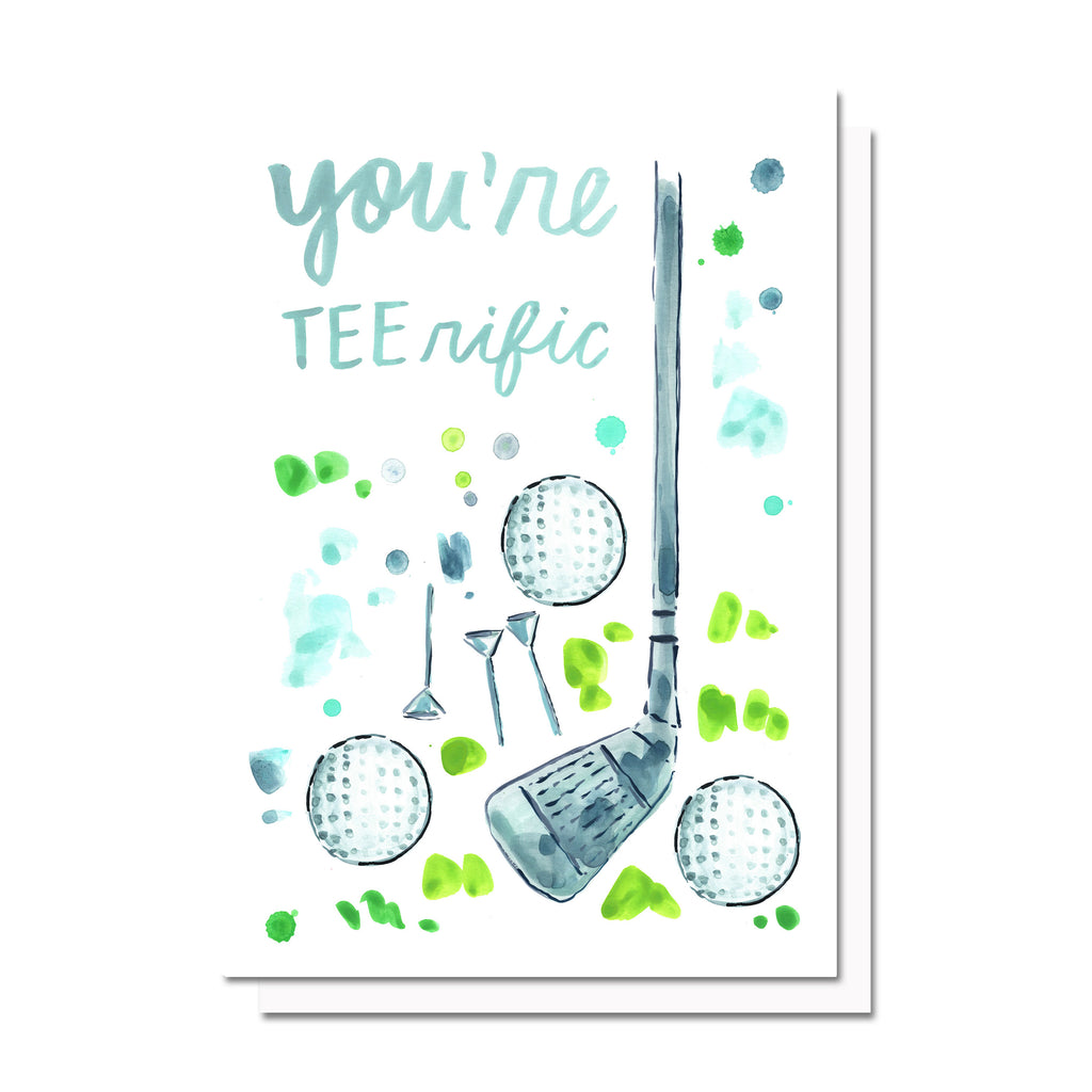 Tee-rific Golf Card