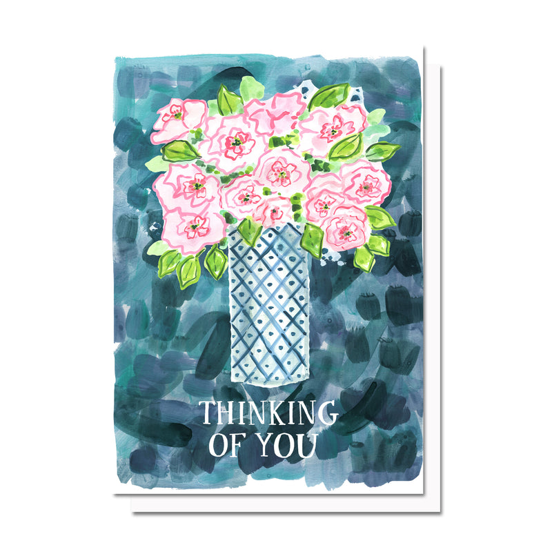 Thinking of You Peonies Card
