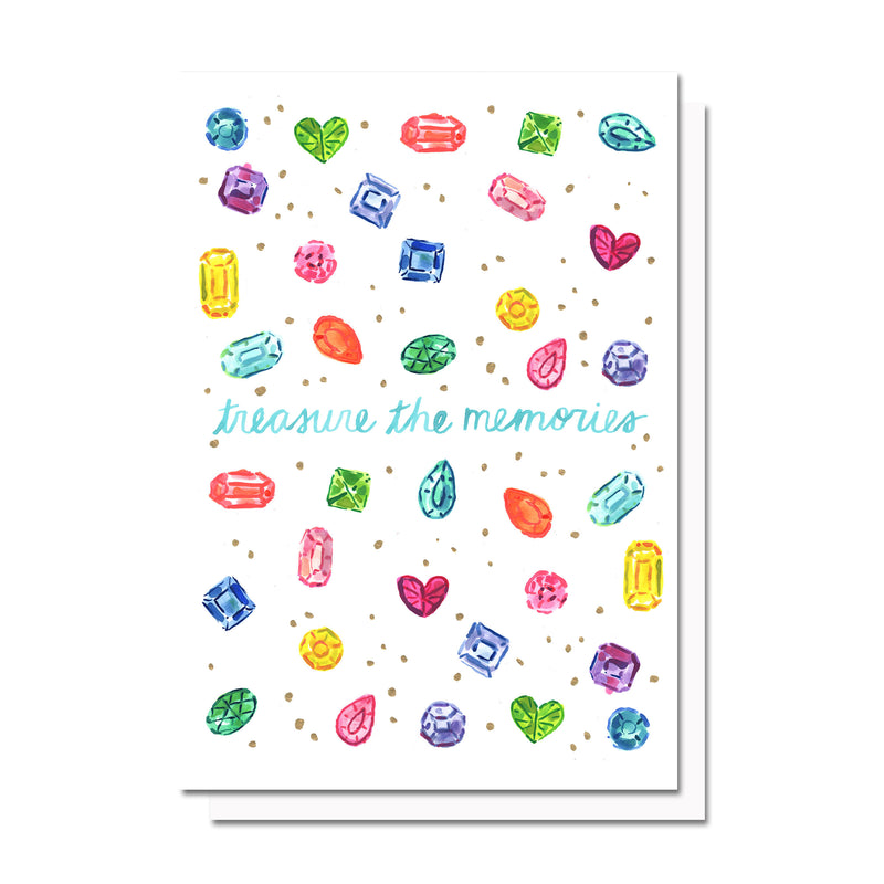 Treasure the Memories Card
