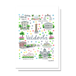 Valdosta, GA Map Card