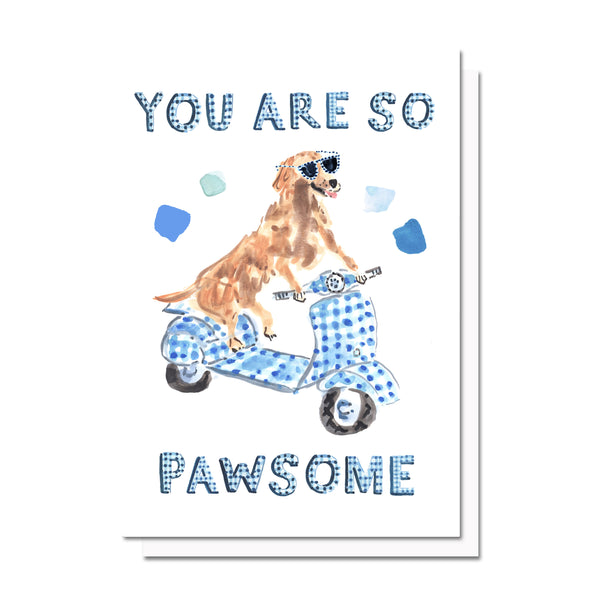 Pawsome Card